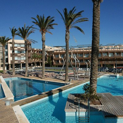 Отель 4* в парке Delta del Ebro на юге от Тарагоны, Испания