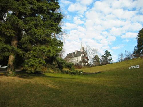 Историческая вилла, замок, Дю Халлэй (Villa Du Hallay) в Бадене под Веной (Австрия)
