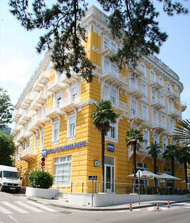Отель на Слатина Бич в Хорватии, Опатия