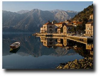 Тишина и покой черногорских берегов